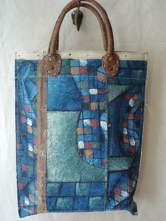 Swarm....bag made out of a painting