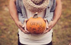 Pregnancy announcement in fall!