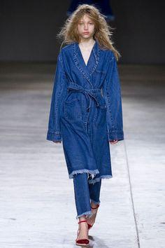 Джинсовое пальто для осени 2014-2015 #Jeans, #DenimTrends, #FW2014-2015