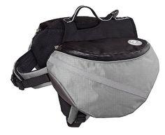 Pet Saddlebags Adjustable Dog Backpack for Camping, XL, Grey ** You can find more details at http://www.buyoutdoorgadgets.com/dog-backpack-adjustable-saddlebag-for-tripper-hound-bag-travel-hiking-camping-grey-xl/?vw=230616050147