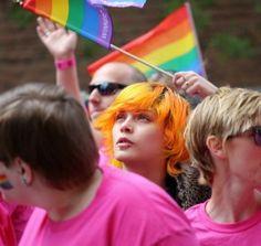 Pride Parade 2014 Edmonton, AB                             Photo by Betty J Budd
