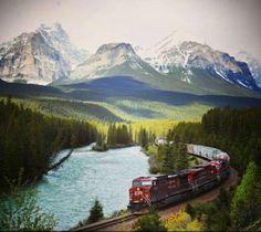 Traverser le Canada en train : quand ce n'est pas tant la destination que le voyage qui compte…