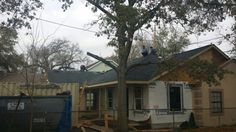 Roof to be 100 percent. Electrical rough 100 percent.  Feb 2