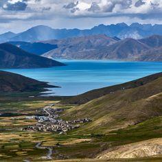 'Tibet,Yamdrok Lake' on Picfair.com