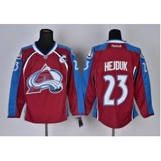 Reebok Colorado Avalanche #23 Milan Hejduk Red Ice Stitched Hockey Jersey_Milan Hejduk Jersey