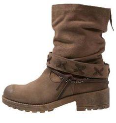 Coolway Angus Botines Camperos Taupe botas y botines taupe Coolway Camperos Botines Angus Noe.Moda