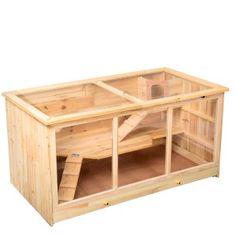 Drewniana klatka dla małych zwierząt-gryzoni 276 zł