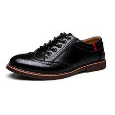 Черный+/+Коричневый+/+Бордовый+Мужская+обувь+Для+офиса+/+На+каждый+день+Кожа+Оксфорды+–+RUB+p.+2+740,61