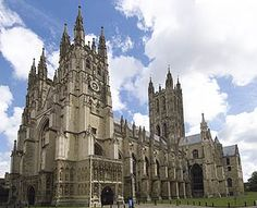 Wk 21: PP said: You may want to take a virtual tour of the Canterbury Cathedral (and see where St. Thomas a Becket was martyred) Cathedral from SW