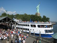 Circle Line tour of Statue of Liberty