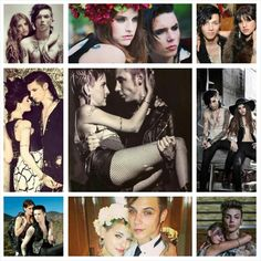 Andy and Juliet. They are so cute together.....I hate it. Lol can I please have a relationship like theirs