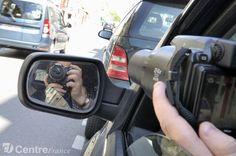 Une femme détective ... Monaco, Car Mirror, Nice, Woman, Munich