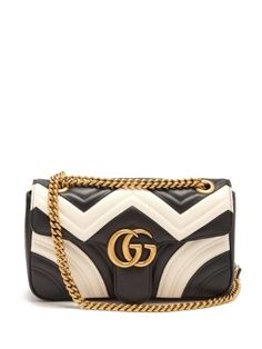 Click here to buy Gucci GG Marmont quilted-leather shoulder bag at  MATCHESFASHION.COM 5a86451883c82