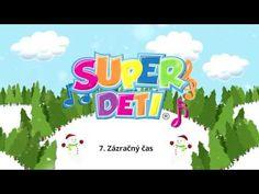 Superdeti - Zázračný čas (VIANOČNÁ POŠTA) - YouTube Primary School, Winter Time, Karaoke, Diy And Crafts, Education, Youtube, Christmas, Art, Yule