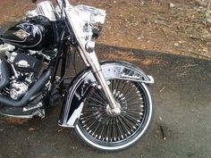 RWW on Harley Softail