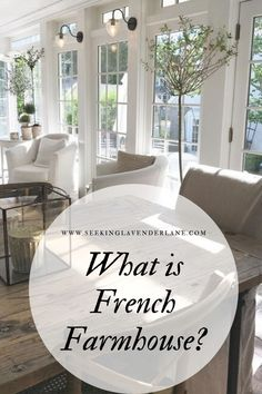 French Farmhouse Love some farmhouse details with a more refined look? Your style might just be French Farmhouse. Come see all the looks that make up a French Farmhouse home. Modern French Country, French Country Farmhouse, Farmhouse Interior, Farmhouse Homes, French Country Decorating, Vintage Farmhouse, Home Interior, French Country Furniture, Farmhouse Blogs