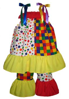 Hadley would look so cute in this clown costume! Fun! Maybe next year?  sc 1 st  Pinterest & Adult Dotted Clown Costume | Polka - dot stuff | Pinterest ...