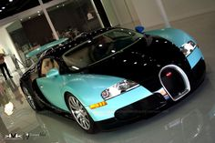 Bugatti Veyron in Tiffany Blue.... This is the car  Simon drives in  The Billionaire's obsession!!!