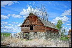 Old Stone Barn - Idaho
