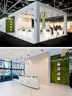 Exhibition Stand @ Cosmoprof •Stand Design: Xilos Temporary Architecture •Stand Build: Xilos Temporary Architecture