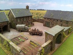 Concept to inspire a great Lego Battlefield! German Houses, La Haye, Military Diorama, Lego Military, Building Drawing, Minecraft Blueprints, Irish Cottage, Wargaming Terrain, Dome House