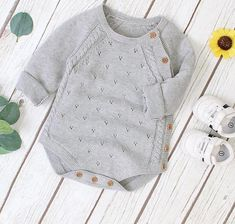 Knitting For Kids, Baby Knitting, Knit Sweater Dress, Happy Baby, Cute Baby Clothes, Toddler Outfits, Baby Bodysuit, Bodysuits, Gift Guide