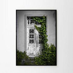 Foto plakat - Stare drzwi