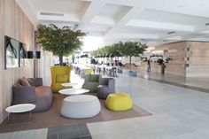 Scandinavian style at Quality Hotel Expo, Fornebu Oslo, Norway by Haptic Architects