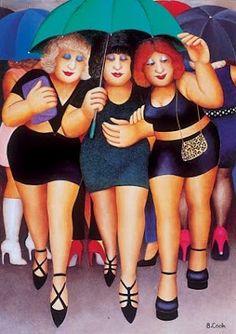 Beryl Cook's Ladies