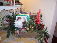 Santa in vinyette