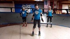 Roller Derby Technique: The Cold Shoulder with San Diego Derby Dolls