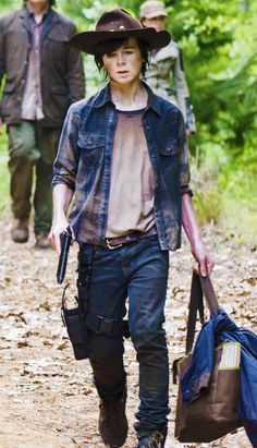 "Carl Grimes ""Strangers"" HE HAS COME A LONG WAY, FROM A LITTLE BOY TO A STRONG YOUNG MAN!! LOVE KKAARRLL.."