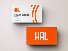 Hal typeface // Hal is a free geometric typeface designed and released by Kyle Robertson and inspired by 2001 – A Space Odyssey, one of the most popular Kubrick movies.