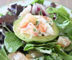 Lobster, Grapefruit and Avocado Salad Recipe | Paleo inspired, real food