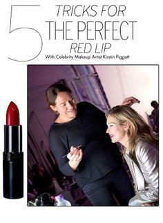 Tips for Wearing Red Lipstick – The Best Lipstick Application Tricks   OK! Magazine