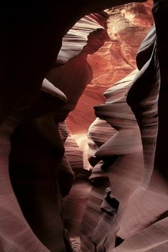 Antelope Canyon, Arizona    (AP Photo/The Daily Times, Brett Butterstein)
