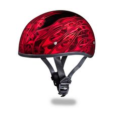 Snakes & Skulls Auto Parts & Accessories Daytona Skull Cap Half Shell Motorcycle Helmet Slim Line DOT
