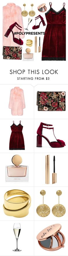 """Merry Christmas!"" by giotibi ❤ liked on Polyvore featuring Altuzarra, MANGO, Pierre Hardy, Jason Wu, Dyrberg/Kern, Yossi Harari, Riedel, Miss Selfridge, partydresses and polyPresents"