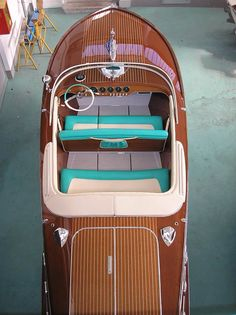 A nice last edition Riva Ariston '69