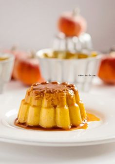 This traditional Cuban Pumpkin Flan is so creamy and delicious, combing favorite fall flavors!