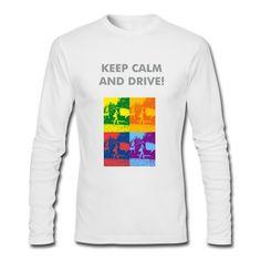 Für coole Jungs, die gerne Autofahren! Und das am liebsten in Begleitung einer hübschen Lady. Keep calm and drive!