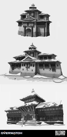 ArtStation - Overwatch - Nepal, Nick Carver