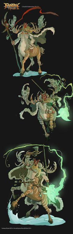 FANTASY RIVALS - Andor The Wild Warden by VanOxymore.deviantart.com on @deviantART