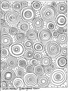 RUG HOOK PAPER CRAFT PATTERN Circles Abstract FOLK ART ABSTRACT PRIM Karla G in Crafts, Home Arts & Crafts, Rug Making | eBay