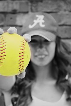 one of my senior softball pictures