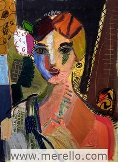 José Manuel Merello. Contemporary Expressionist  Painting.