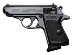 Walther PPK/S 380 ACP Barrel. Carried one of these in stainless when working undercover. Great for concealed carry, though a touch under-powered for my taste. Rifles, 380 Acp, Cool Guns, Guns And Ammo, Self Defense, James Bond, Shotgun, Firearms, Hand Guns