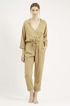 Photo 2 of Ditsy Floral Print Pyjama Lounge Suit