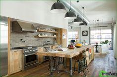 Kök utan överskåp: 75+ fantastiska funktionella idéer