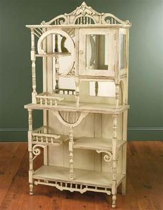 Now this is a grand piece of furniture-I'd love to line a wall with a couple of these beauties!